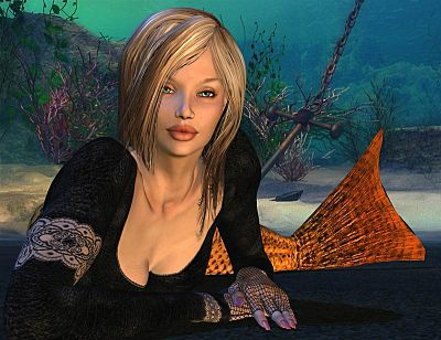 fantasy art mermaid 2