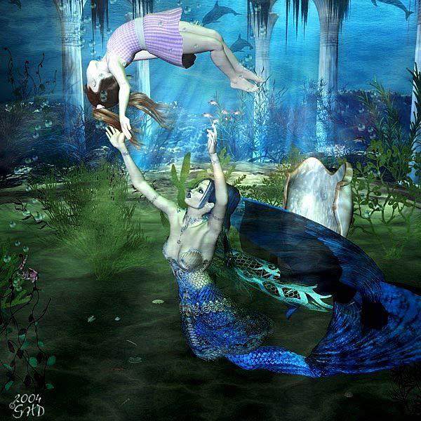 Mermaid Art Related Ke...